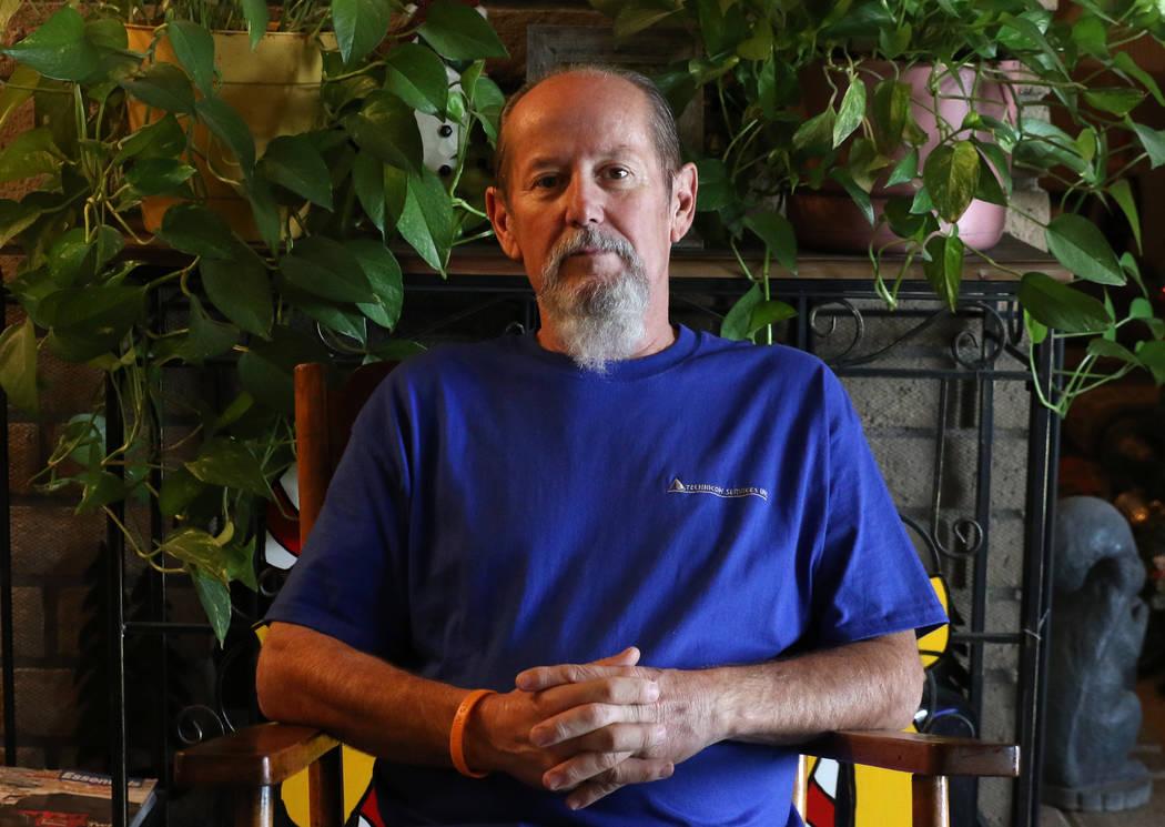 Arlie Daniel Jr., 59, poses for a photo at his Las Vegas home on Friday, Dec. 7, 2018. Bizuayehu Tesfaye Las Vegas Review-Journal @bizutesfaye