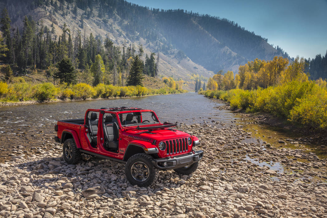 The all-new 2020 Jeep Gladiator comes to Chapman in spring of 2019. (FCA)
