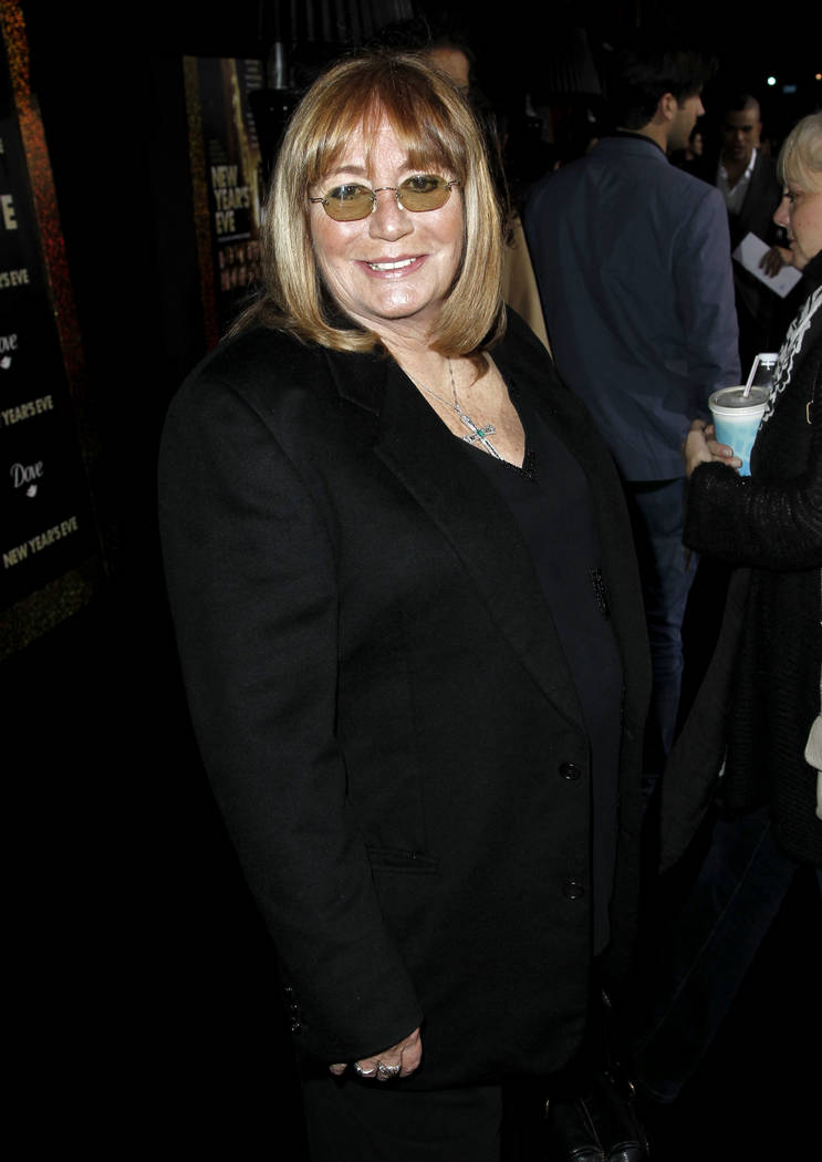 "Penny Marshall arrives at the premiere of ""New Year's Eve"" in Los Angeles, Dec. 5, 2011. Marshall died of complications from diabetes on Monday, Dec. 17, 2018, at her Hollywood Hills home. She was ..."