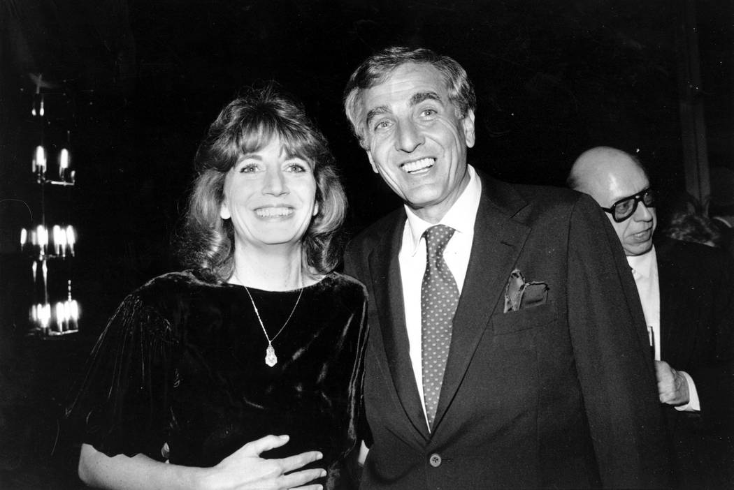 Actress Penny Marshall poses with her brother, producer-director Garry Marshall, at a dinner given in honor of him by the Los Angeles Free Clinic in Los Angeles, Dec. 6, 1982. Penny Marshall died ...