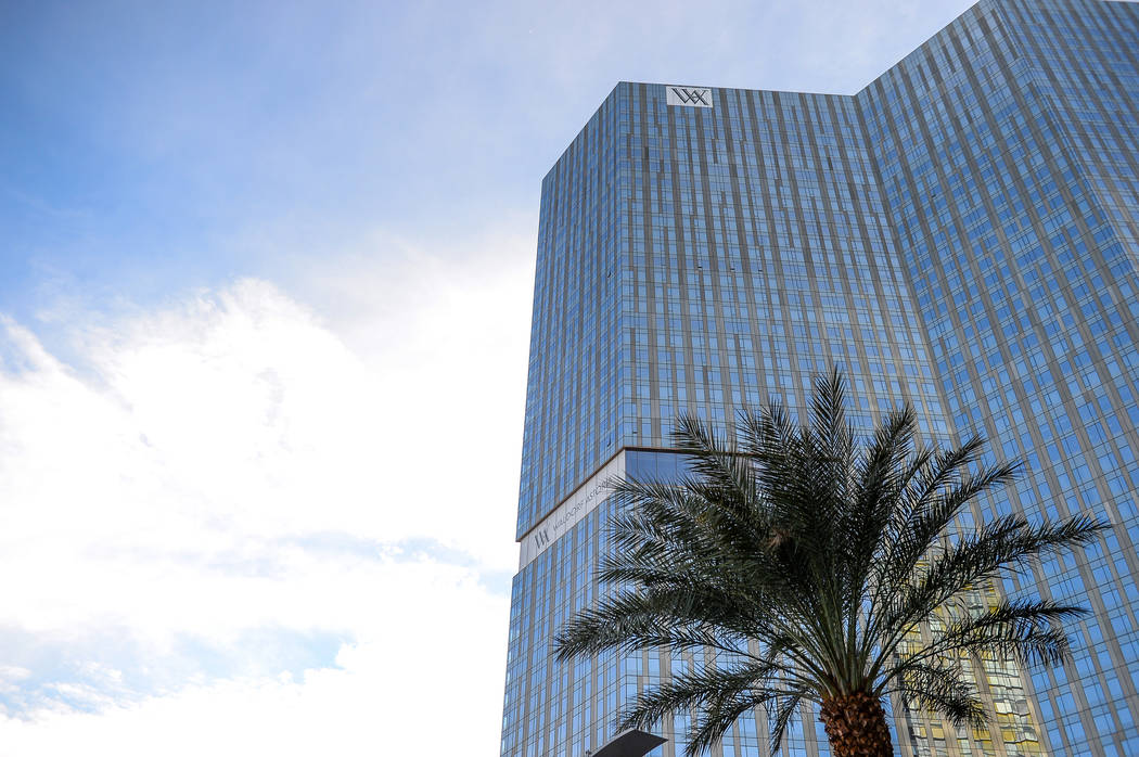 The Waldorf Astoria, seen Monday, Dec. 17, 2018, was home to some of the most expensive high-rise condo sales of the year in Las Vegas. Caroline Brehman/Las Vegas Review-Journal