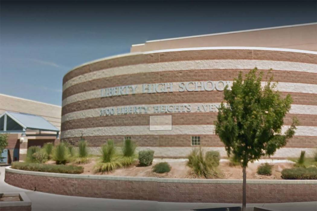 Liberty High School in Henderson (Google Street View)