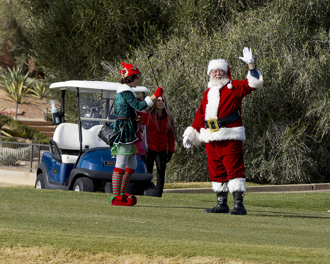 Rudolph's Neon Golf Cart Parade will be held Dec. 22 at 5 p.m. (Lake Las Vegas)