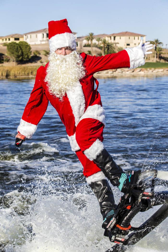 Lake Las Vegas Santa Cruise is slated for Dec. 22-23 at Lake Las Vegas. (Lake Las Vegas)