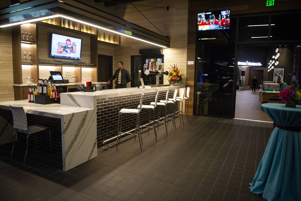 Regal's Cinebarre, Palace Station's new movie theater, hosts its grand opening in Las Vegas, Tuesday, Dec. 18, 2018. Caroline Brehman/Las Vegas Review-Journal