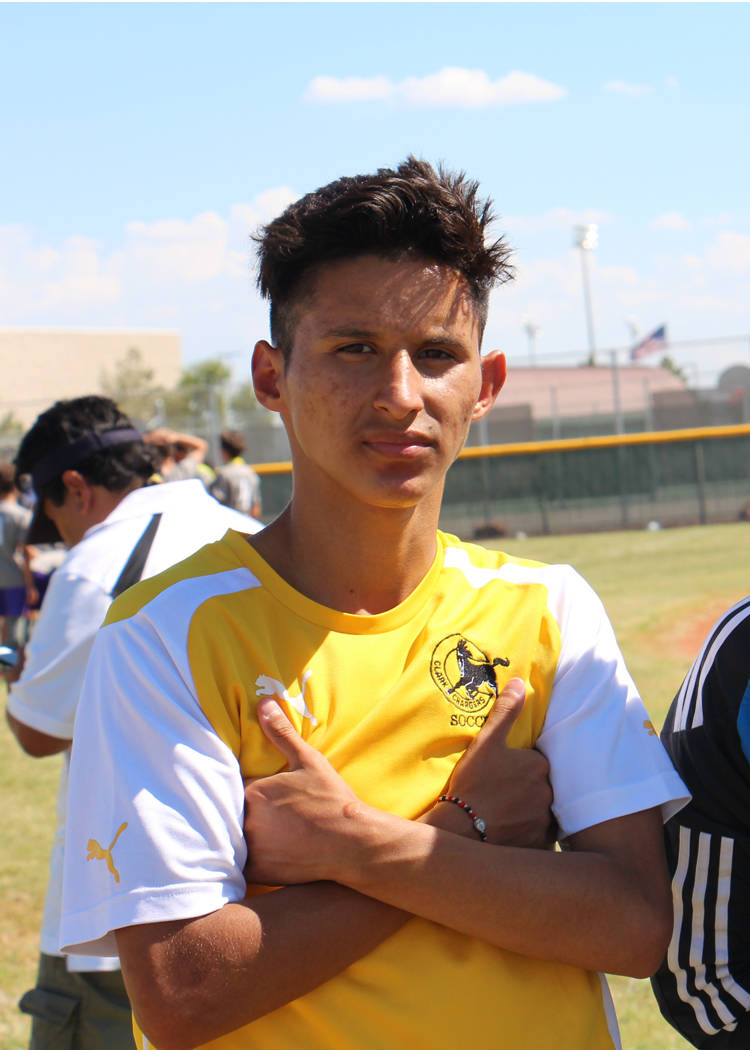 Juan Beltran-Diaz is a member of the Nevada Preps all-state boys soccer team.