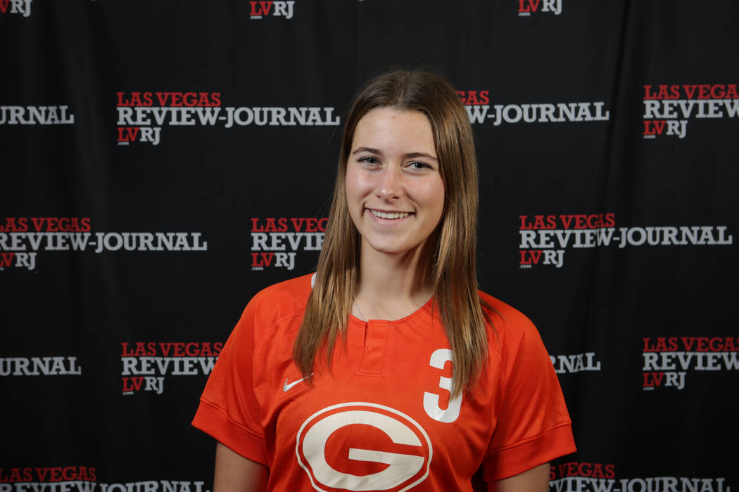 Bishop Gorman's Ashtyn Fink is a member of the Nevada Preps all-state girls soccer team.