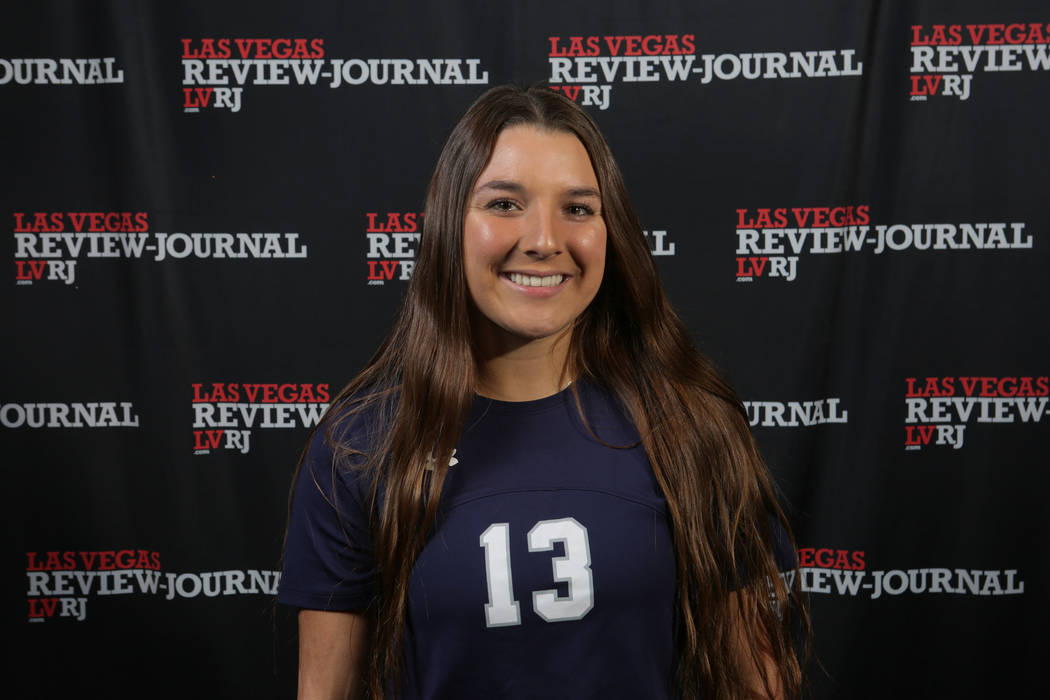 Shadow Ridge's Taylore Simmons is a member of the Nevada Preps all-state girls soccer team.