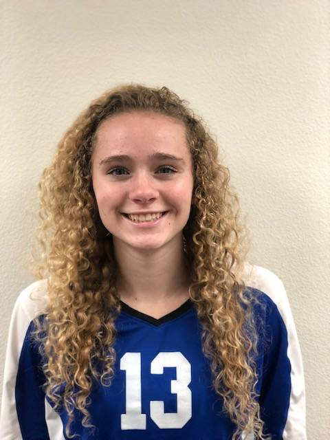 Carson's Abigail Pradere is a member of the Nevada Preps all-state girls volleyball team.