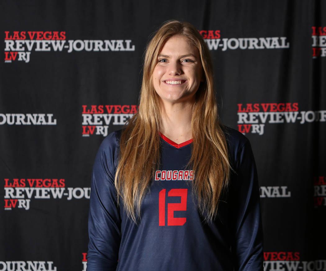 Coronado's Sasha Bolla is a member of the Nevada Preps all-state girls volleyball team.