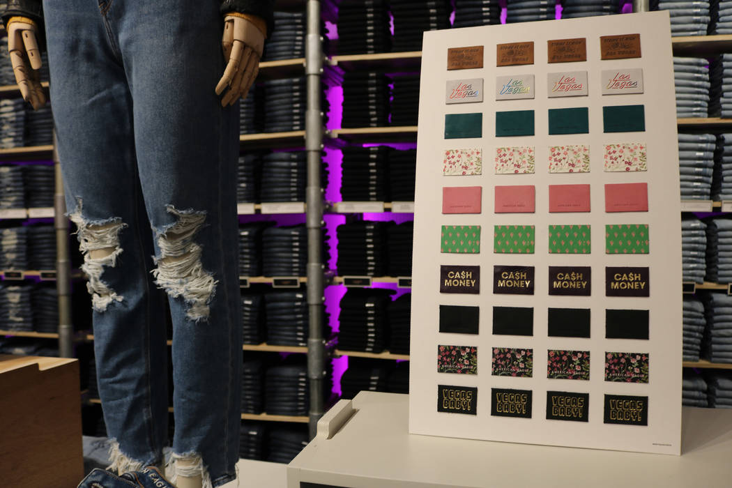 Customize your clothes at new American Eagle on Las Vegas