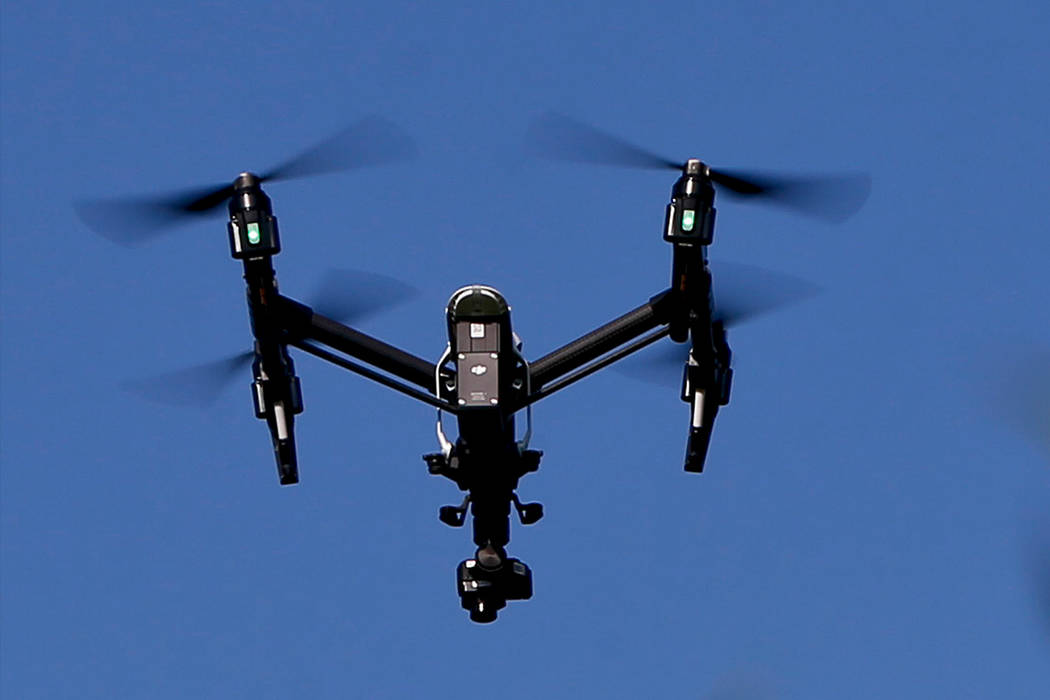 A drone is pictured in this file photo. (AP Photo/Keith Srakocic, File)