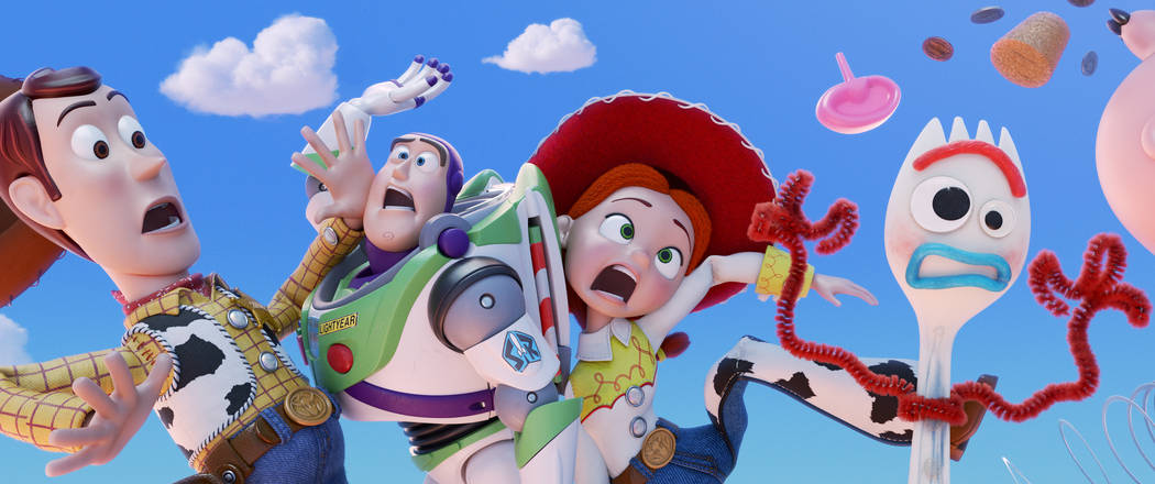 NEW TOY? – Everyone's favorite pull-string cowboy sheriff Woody, along with his best friends Buzz Lightyear and Jessie, are happy taking care of their kid, Bonnie, until a new toy ca ...