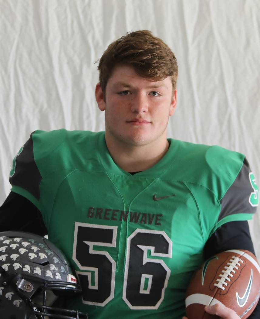 Churchill County's Ben Dooley is a member of the Nevada Preps all-state football team.