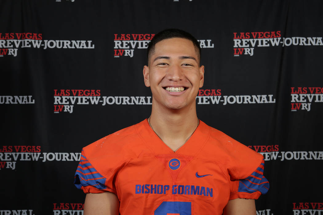 Bishop Gorman's Treven Ma'ae is a member of the Nevada Preps all-state football team.