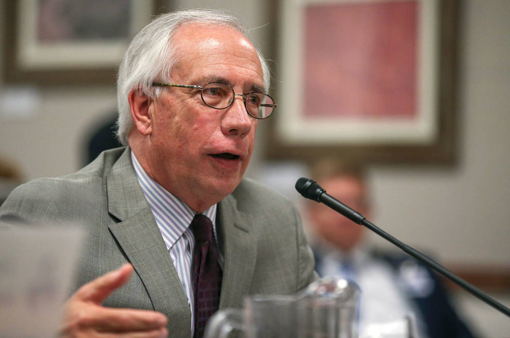 Nevada Assemblyman Pat Hickey, R-Reno, seen in 2015 (Cathleen Allison/Las Vegas Review-Journal)