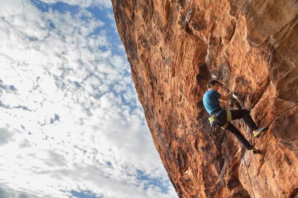 El Capitan rock climber Alex Honnold at home in Las Vegas | Las