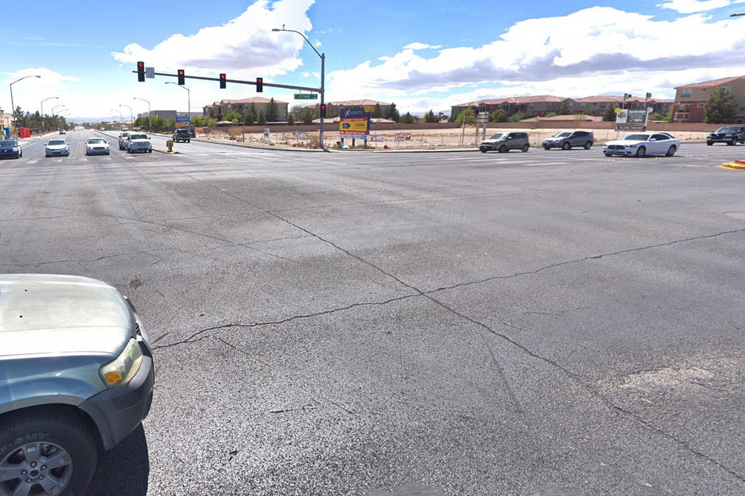 The intersection of Craig Road and Lamb Boulevard is pictured in this Google Street View photo.