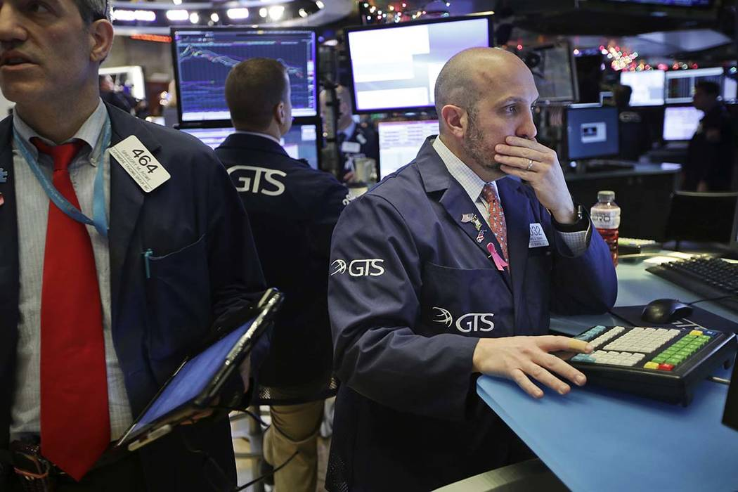 dow plunges now stock market faces worst december since 1931 las