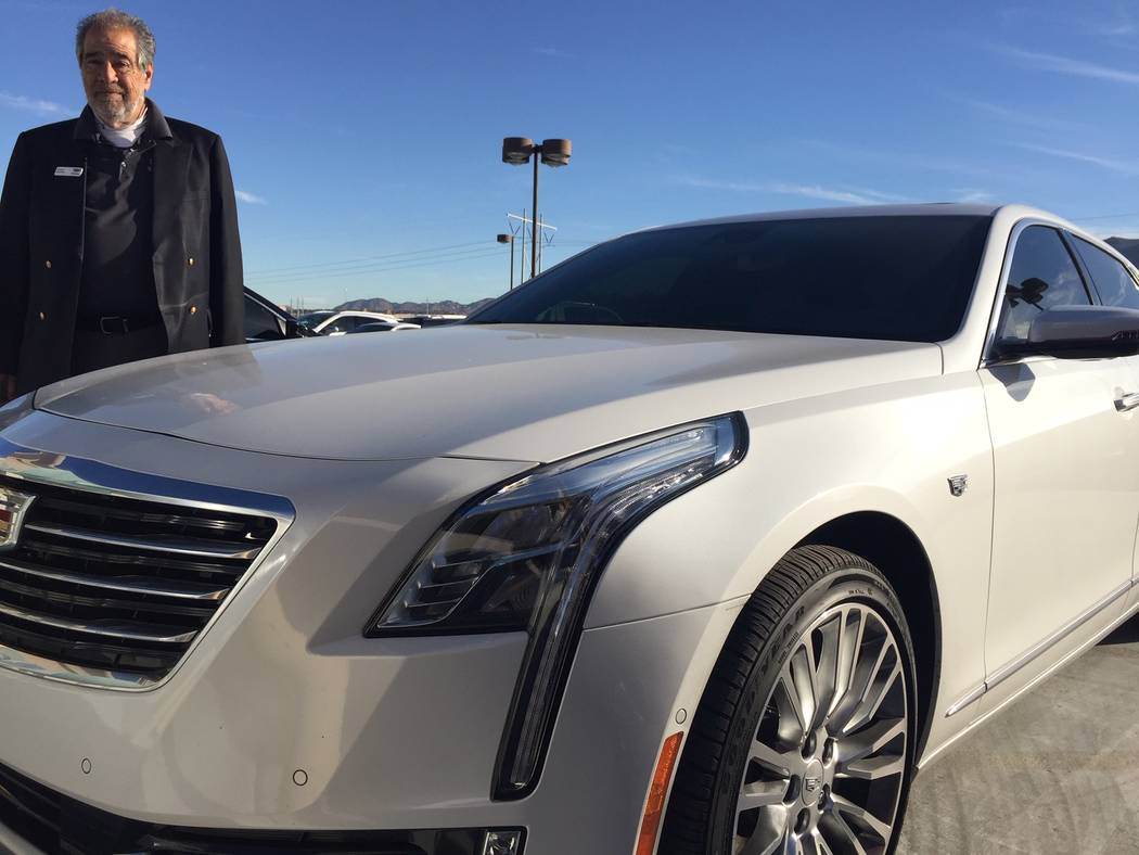 Veteran Findlay Cadillac sales consultant Mike Waldman leased this 2018 Cadillac CT6 3.0 twin turbo. (Findlay)
