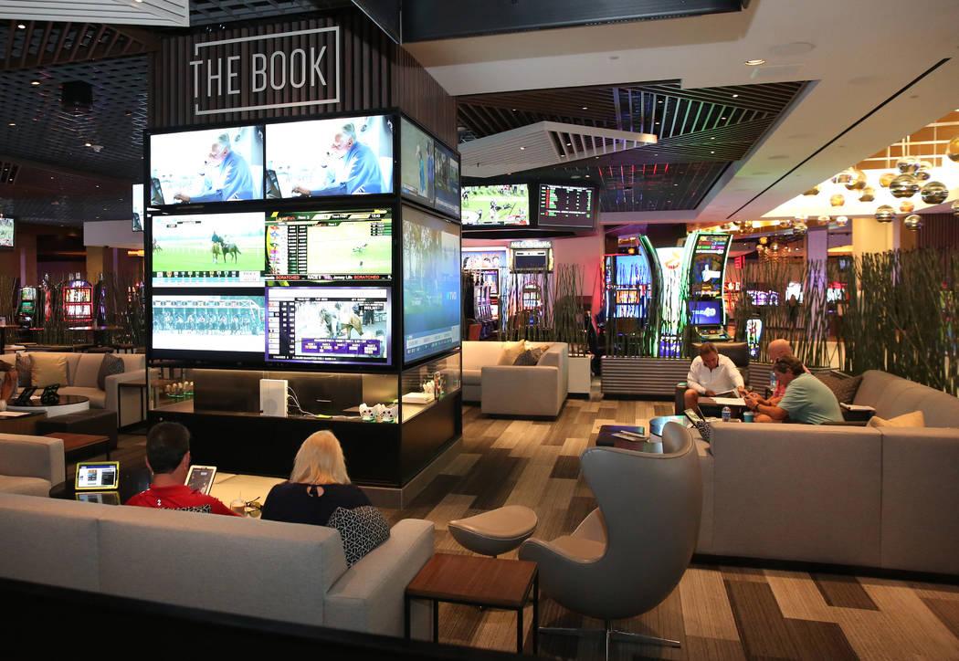 The gaming floor at the LINQ photographed on Friday, Nov. 2, 2018, in Las Vegas. (Bizuayehu Tesfaye/Las Vegas Review-Journal) @bizutesfaye