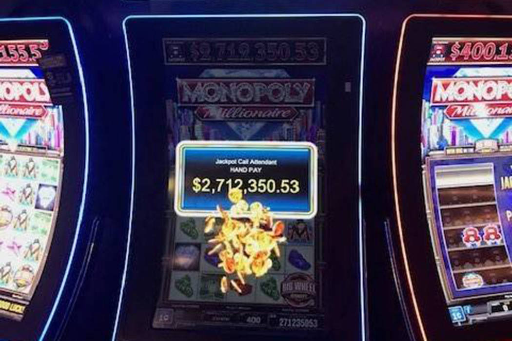 A Henderson local won a Christmas bonus on Monday at a Station Casino property. (Station Casinos)