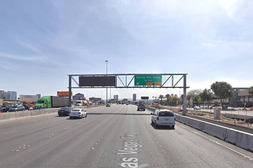 A closure of a portion of Interstate 15 will usher in the new year for area motorists. (Google Street View)