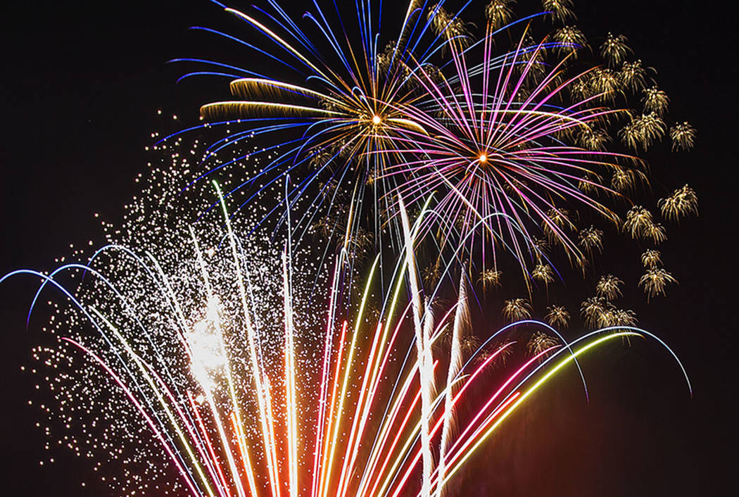 Gunfire, illegal fireworks New Year's problems in Las ...
