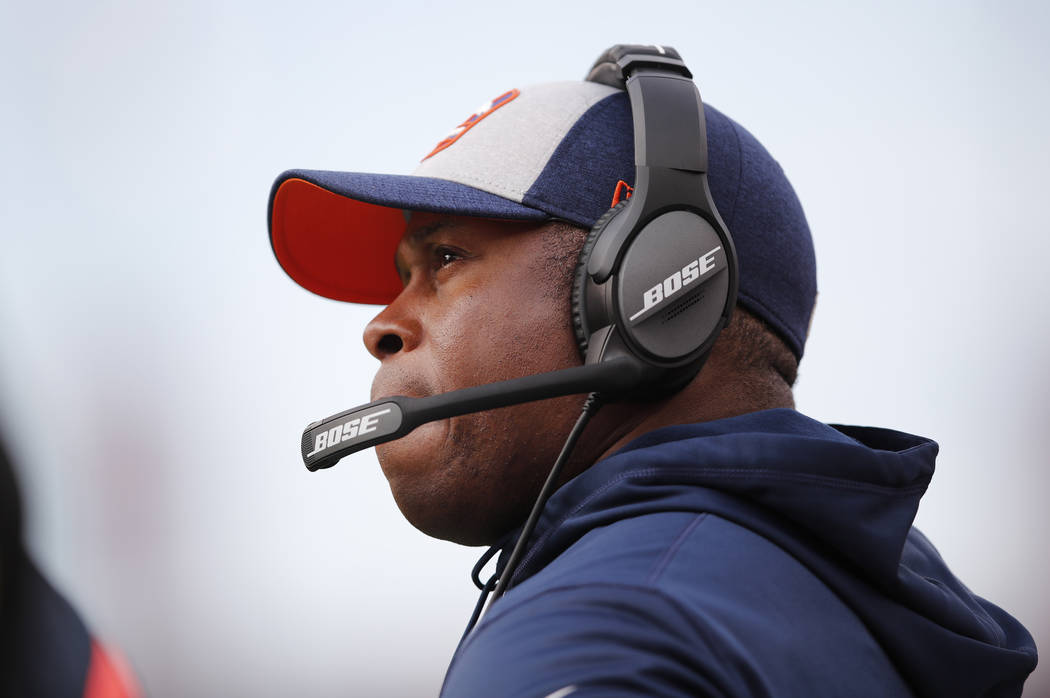 Denver Broncos head coach Vance Joseph has been fire after the franchise's first back-to-back seasons of double-digit losses since 1966-67. (John Hefti/AP)