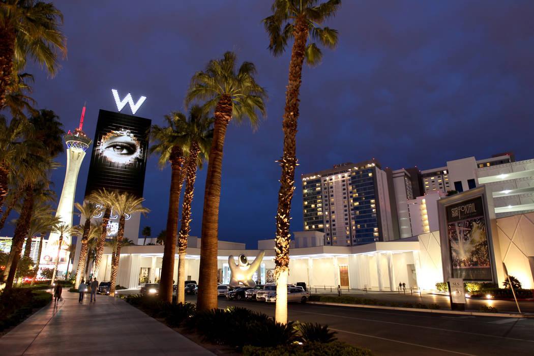 The SLS Las Vegas on March 29, 2018. (K.M. Cannon / Las Vegas Review-Journal) @KMCannonPhoto
