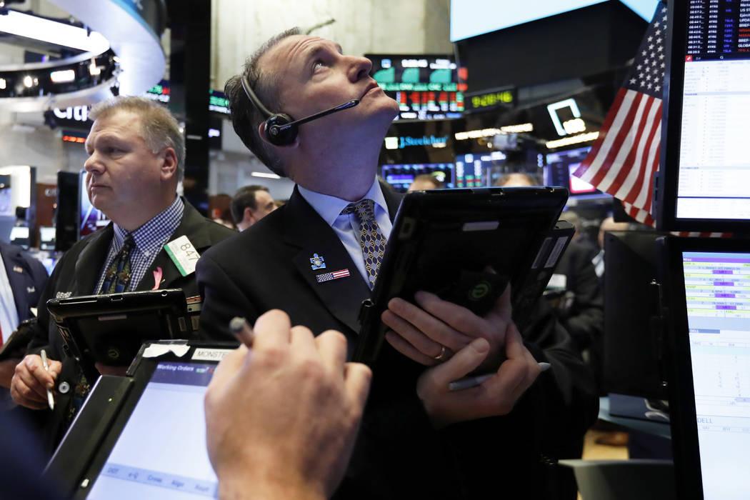 Trader Jonathan Corpina works on the floor of the New York Stock Exchange, Dec. 28, 2018. (Richard Drew/AP, File)