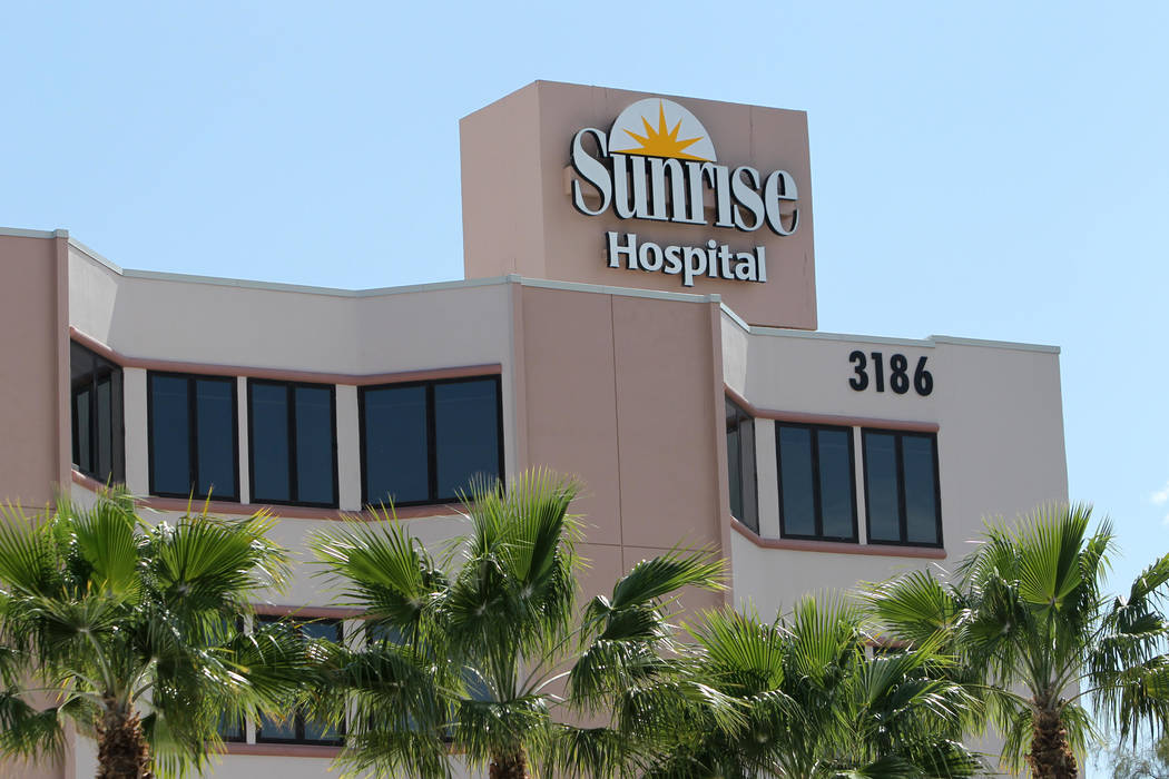 Sunrise Hospital and Medical Center in Las Vegas (Las Vegas Review-Journal)