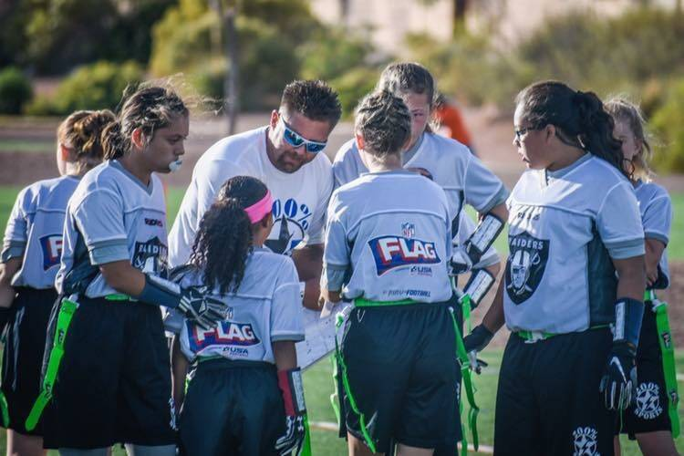 Las Vegas all-girls flag football league set for March start  23b5a4ab1