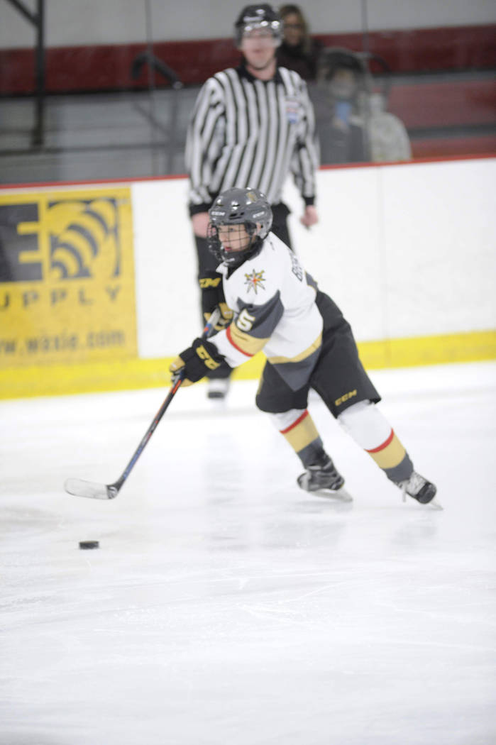 """Defenseman Connor Beers credits """"team chemistry and friendship"""" as one of the keys to the success of the Vegas Junior Golden Knights."""