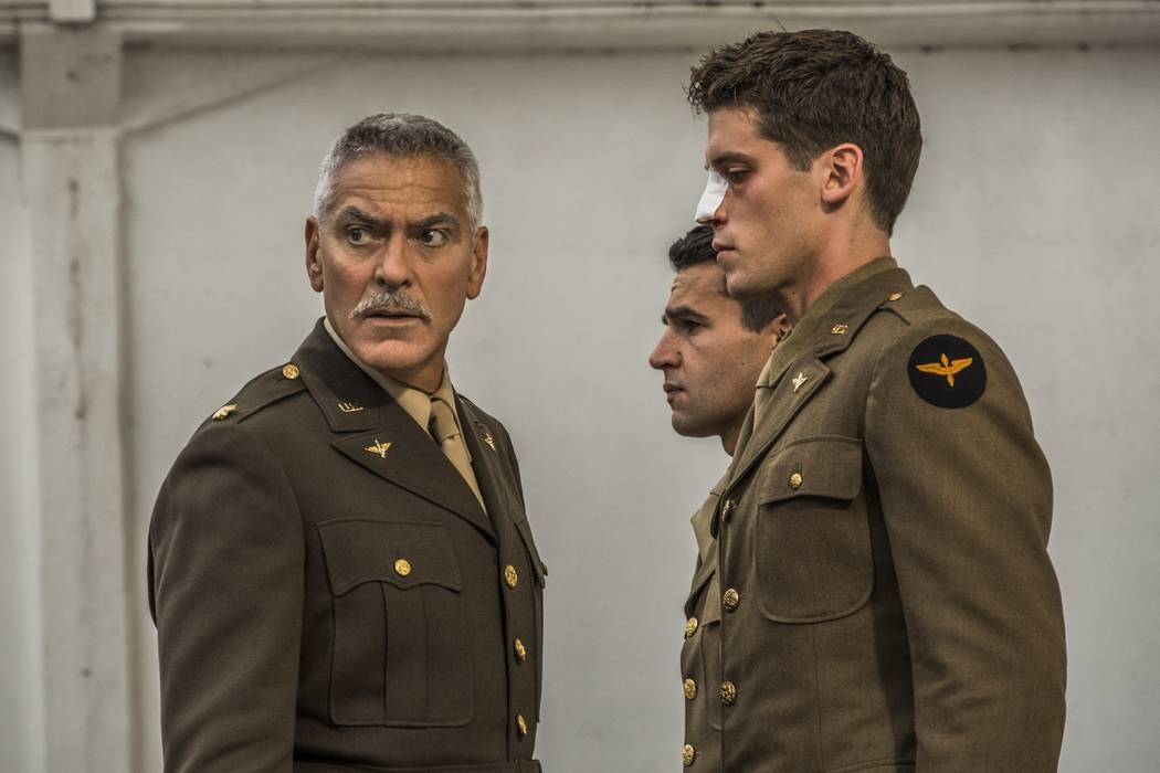 """George Clooney is the executive producer and co-stars in Hulu's """"Catch-22."""" (Hulu)"""