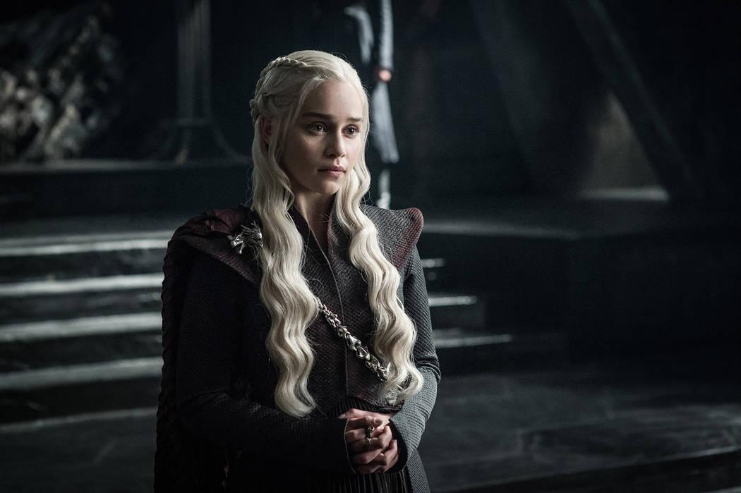 "Emilia Clarke in ""Game of Thrones"" (Helen Sloan/HBO)"