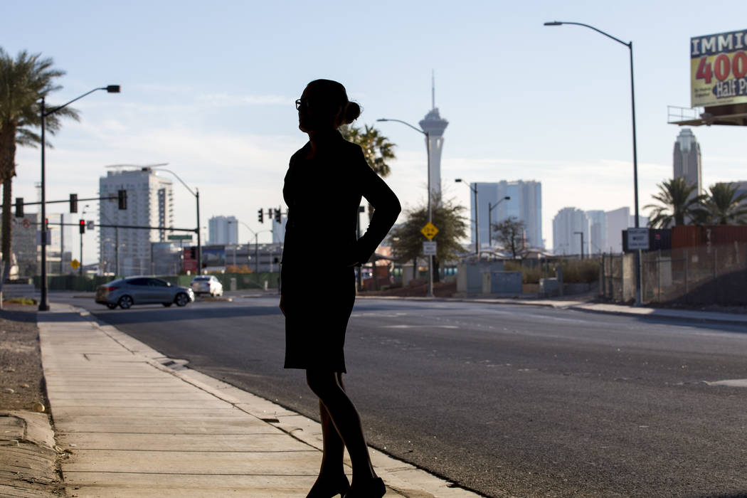 Henderson police officer Bridget Ward feared how her transition would be perceived in macho police culture. (Richard Brian/Las Vegas Review-Journal) @vegasphotograph