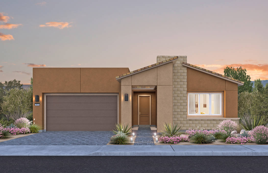 Pictured is the Parklane model at Pulte Homes' new Varenna neighborhood at Lake Las Vegas. Pulte will hold a grand opening event for Varenna on Jan. 13. (Pulte Homes)