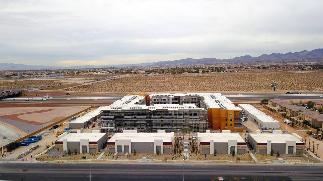 Courtesy Tru Development Co. The Kaktus Life I luxury apartment community is currently under construction in the Southern Highlands area. Developers are seeking silver LEED certification the proje ...