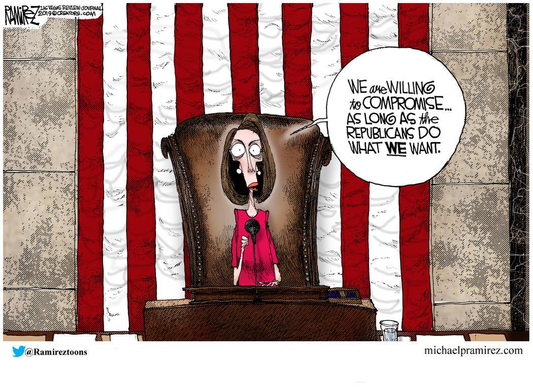 Cartoon A New Congress Las Vegas Review Journal