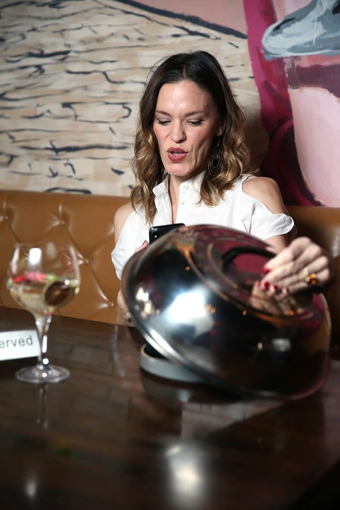 Chef Jolene Mannina at EDO Gastro Tapas and Wine Restaurant in Las Vegas, Thursday, Dec. 27, 2018. Erik Verduzco Las Vegas Review-Journal @Erik_Verduzco