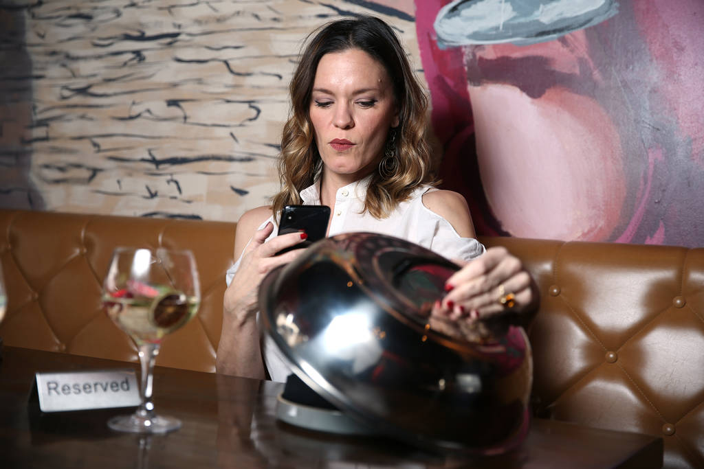 Chef Jolene Mannina at EDO Gastro Tapas and Wine Restaurant in Las Vegas, Thursday, Dec. 27, 2018. Erik Verduzco Las Vegas Review-Journal @Erik_Verduzco