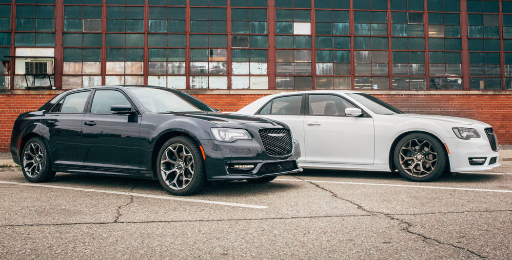 According to Edmunds.com, the Chrysler 300 was the most wanted large car of 2018. (Chrysler)