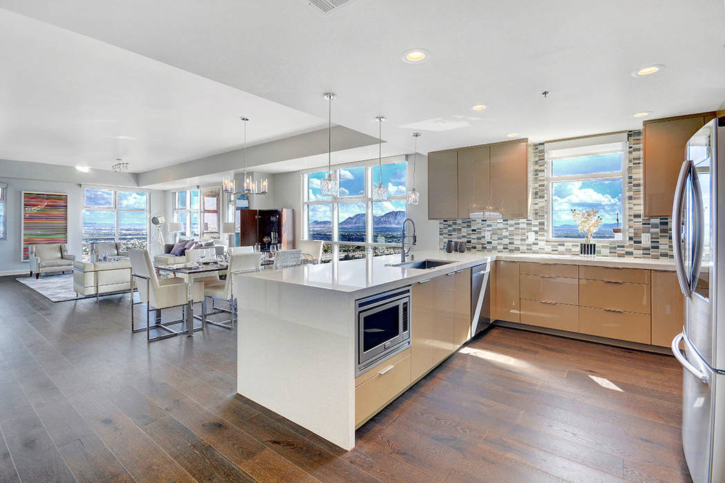 The Cragin floor plan, model No. 2114, is part of The Ogden's Premier Collection, which is part of the high-rise's final release of condominiums for sale. (The Ogden)
