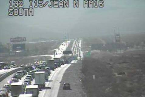 Southbound I-15 traffic backed up for 12 miles | Las Vegas
