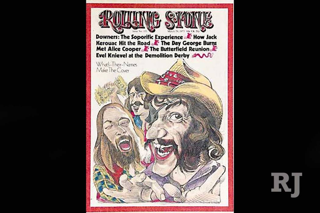 Dr. Hook and the Medicine Show finally made the cover of the Rolling Stone. (Dr. Hook and the Medicine Show Facebook)