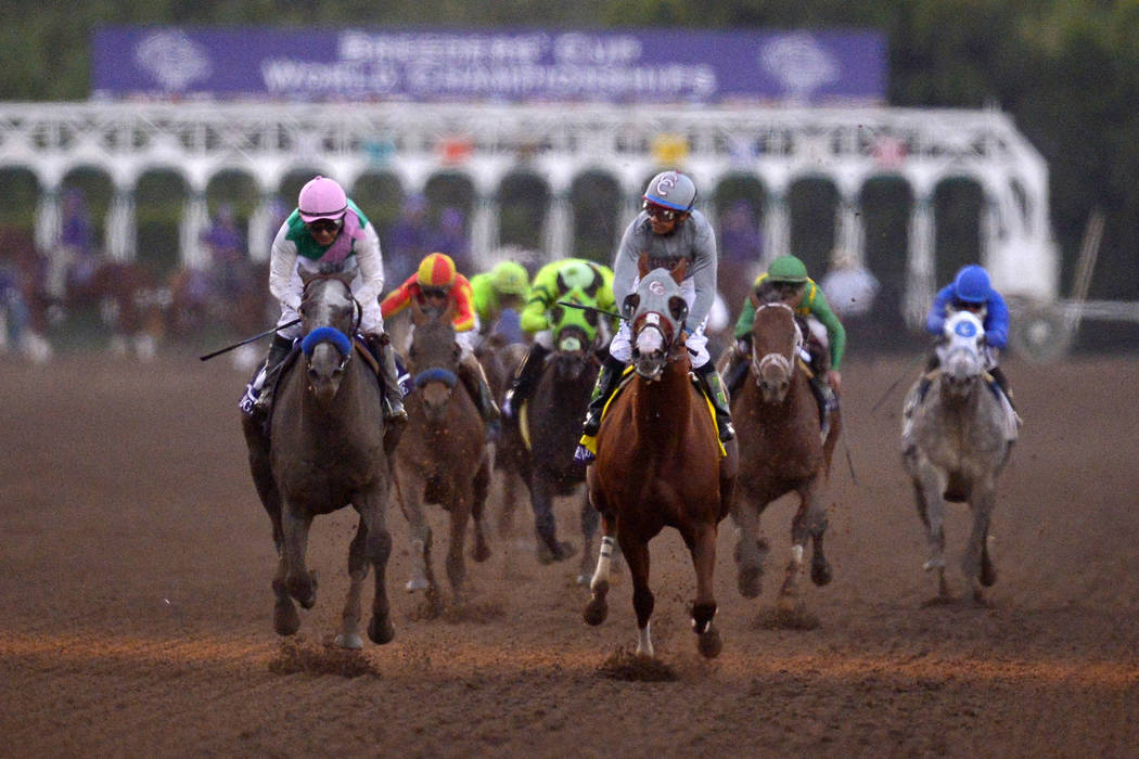 Santa Anita in Arcadia, California. (AP Photo/Mark J. Terrill)