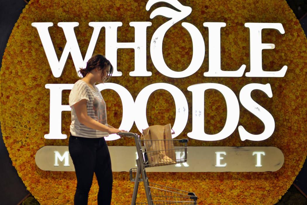 A shopper at Whole Foods Market (Whole Foods Market)