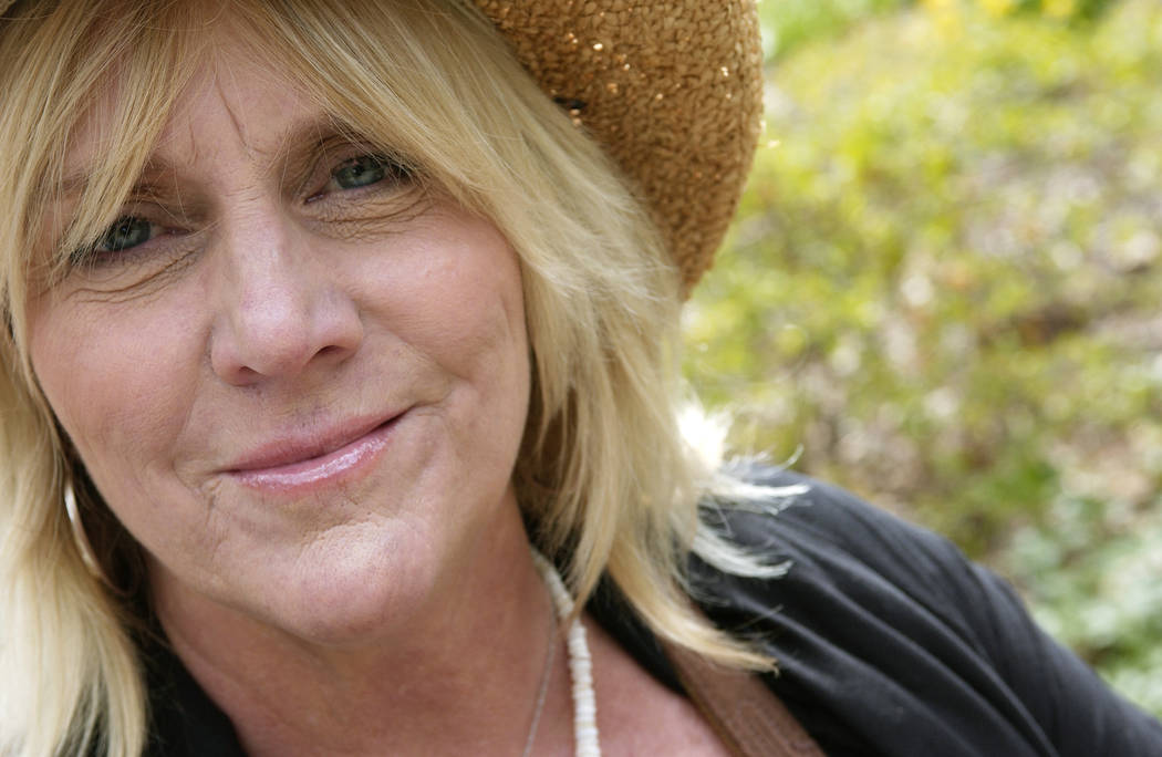 Singer Pegi Young is photographed in New York's Central Park on April 17, 2007. (AP Photo/ Jim Cooper, File)