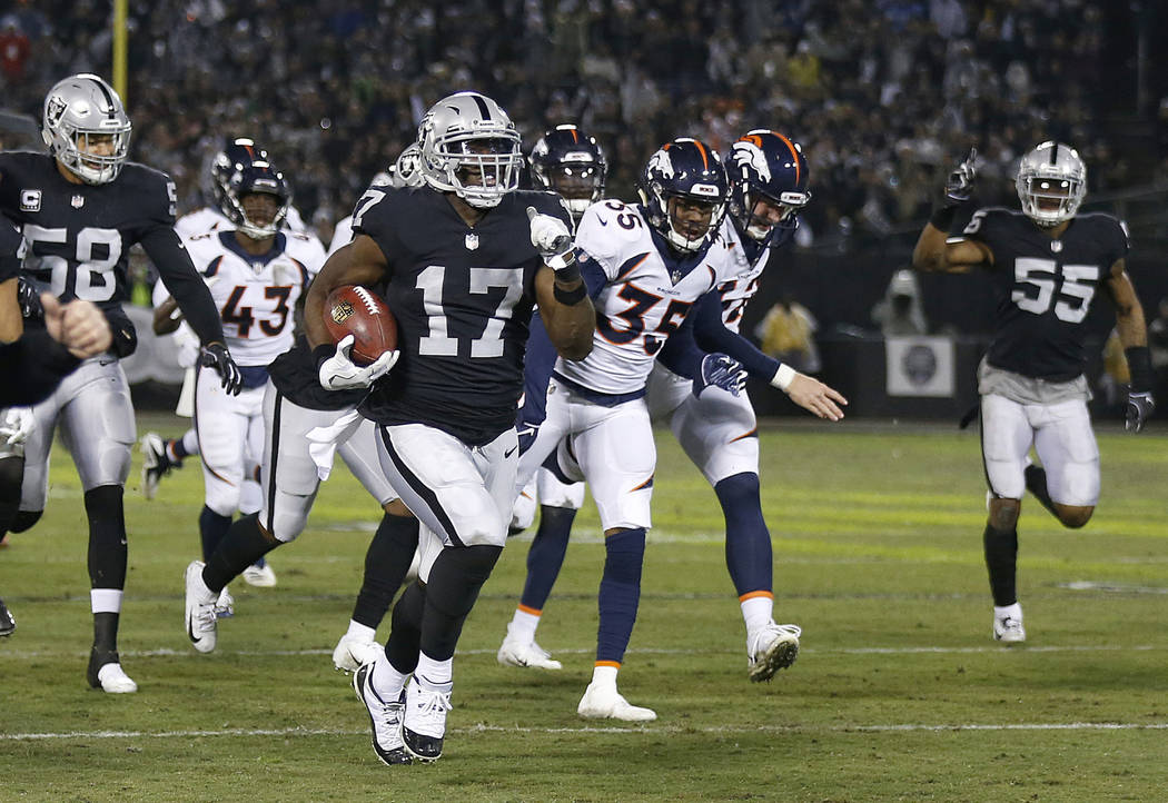 No Raiders players selected to AP AllPro team  Las Vegas ReviewJournal